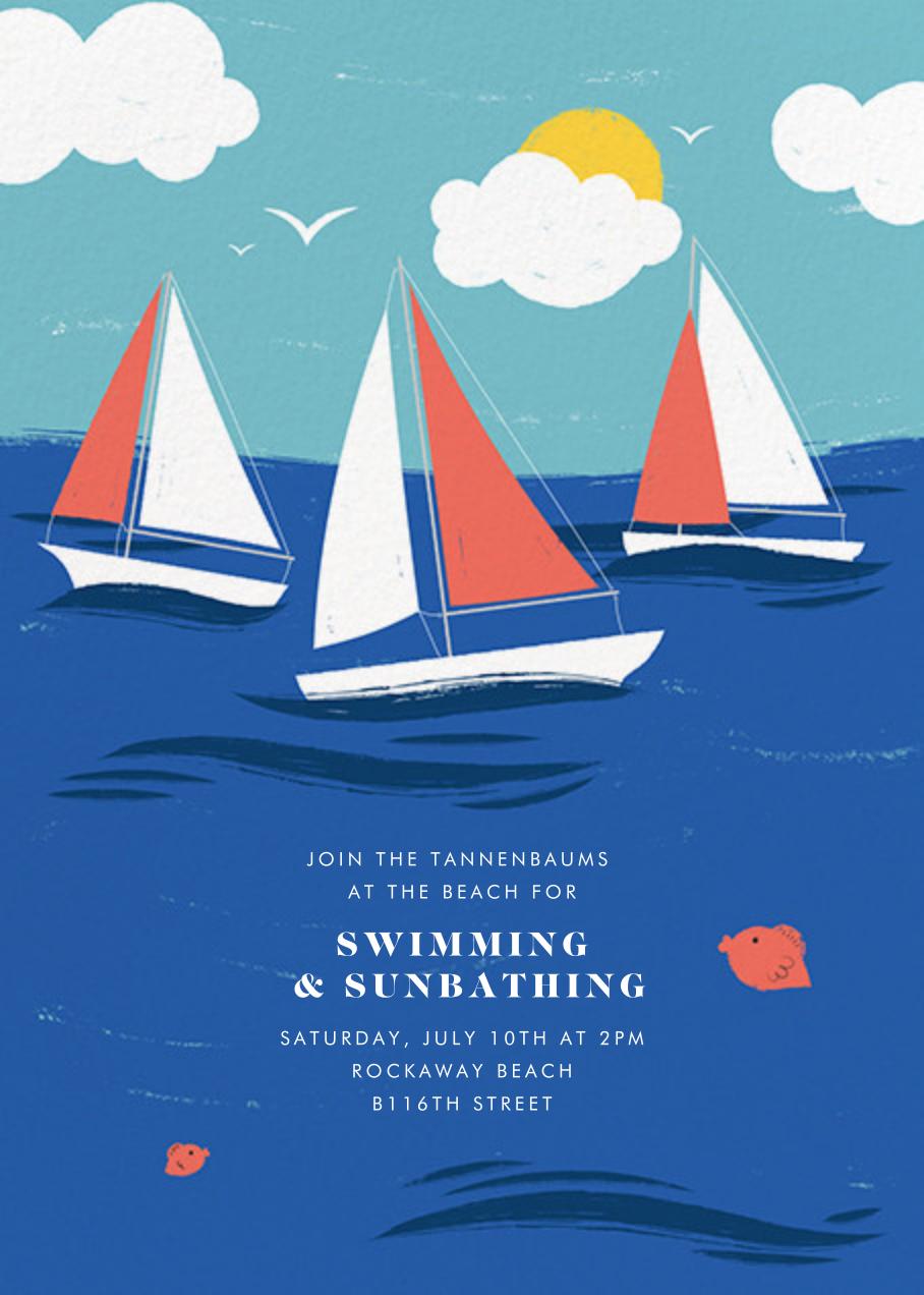 Smooth Sailing - Paperless Post - Summer entertaining