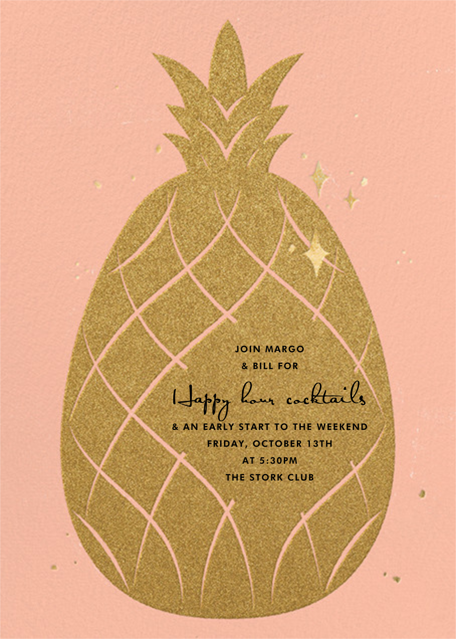 Go Ananas - Paperless Post - Happy hour