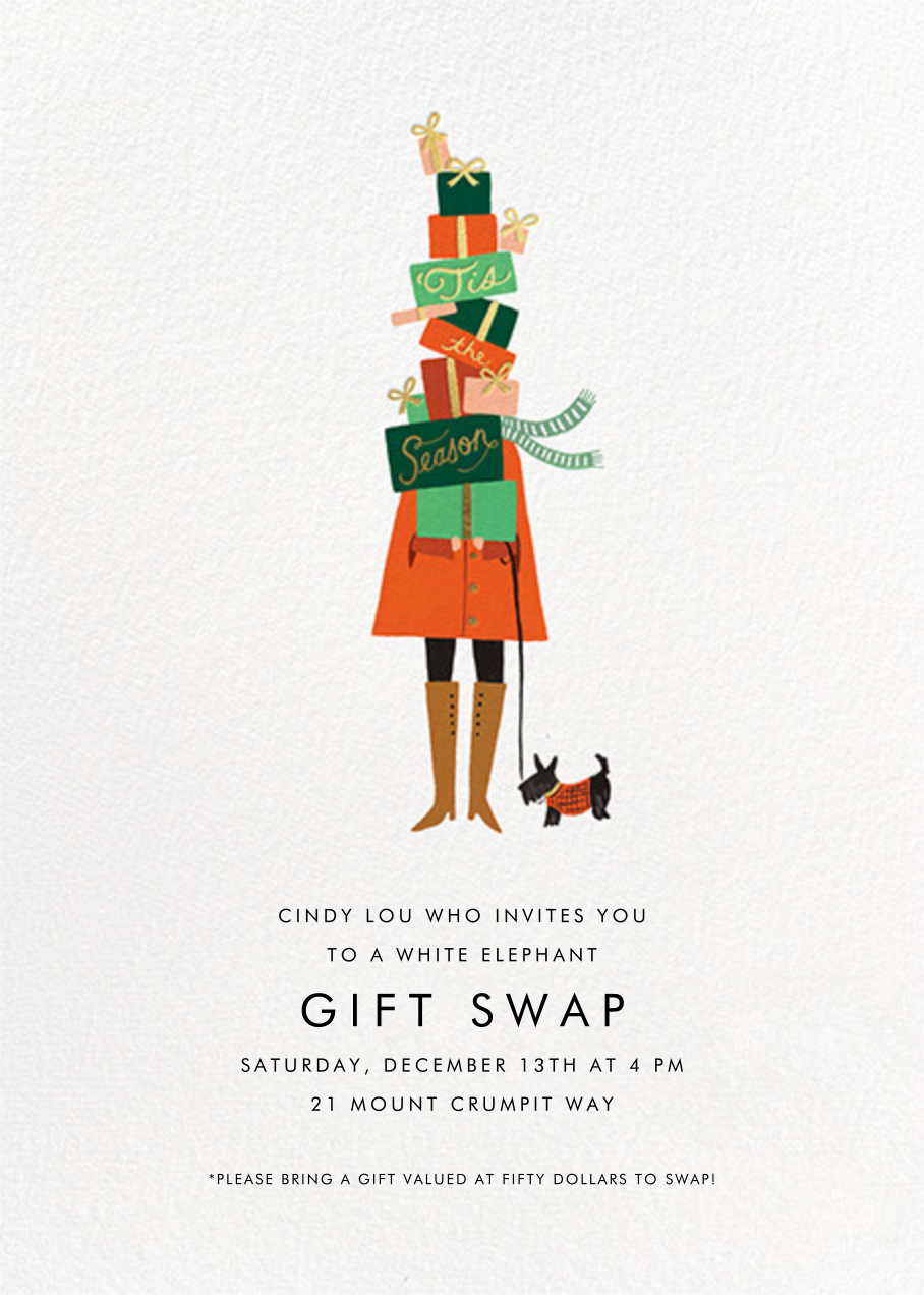 Season of Giving - Rifle Paper Co. - Christmas party