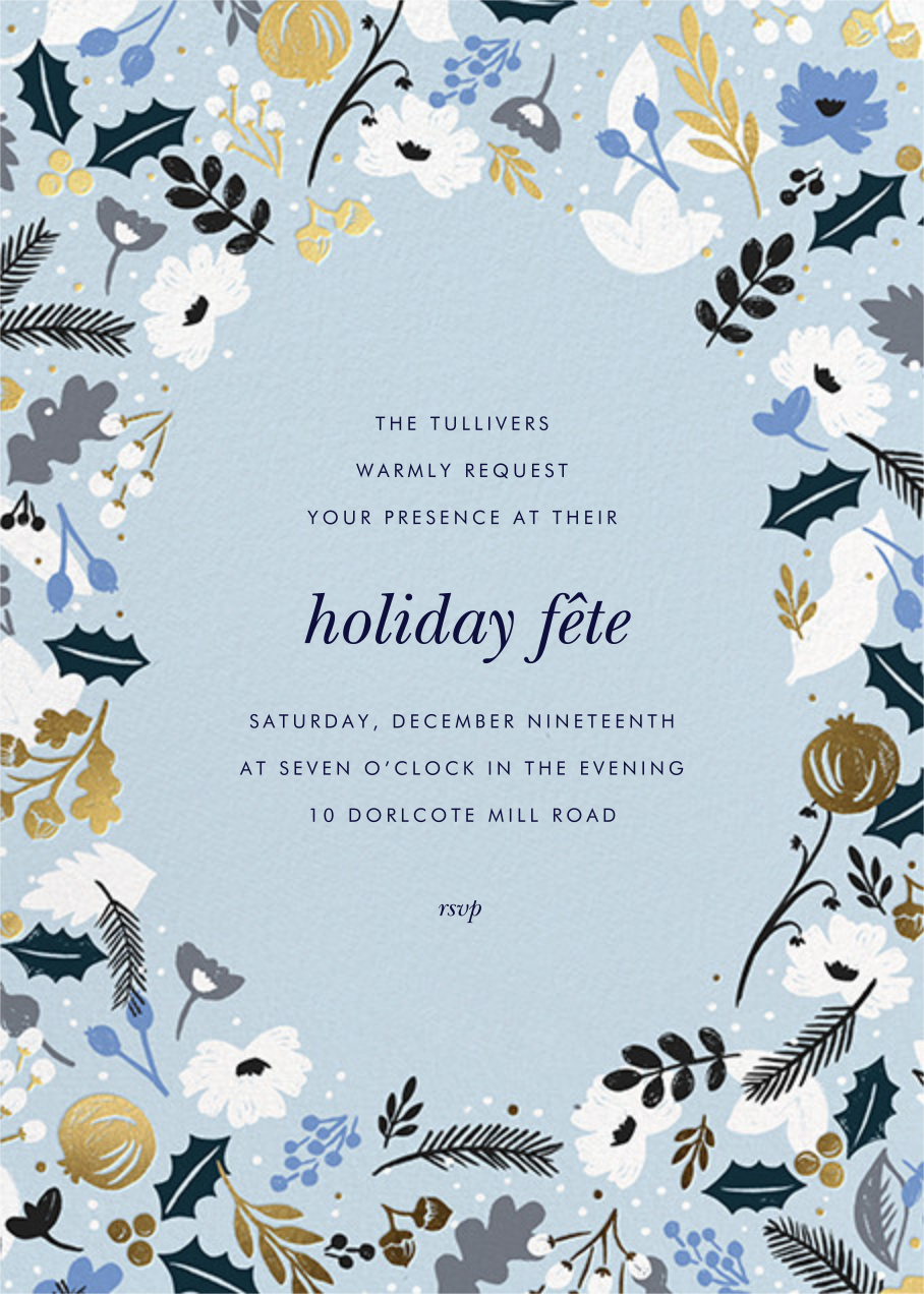 Holiday Sun - Rifle Paper Co. - Winter parties