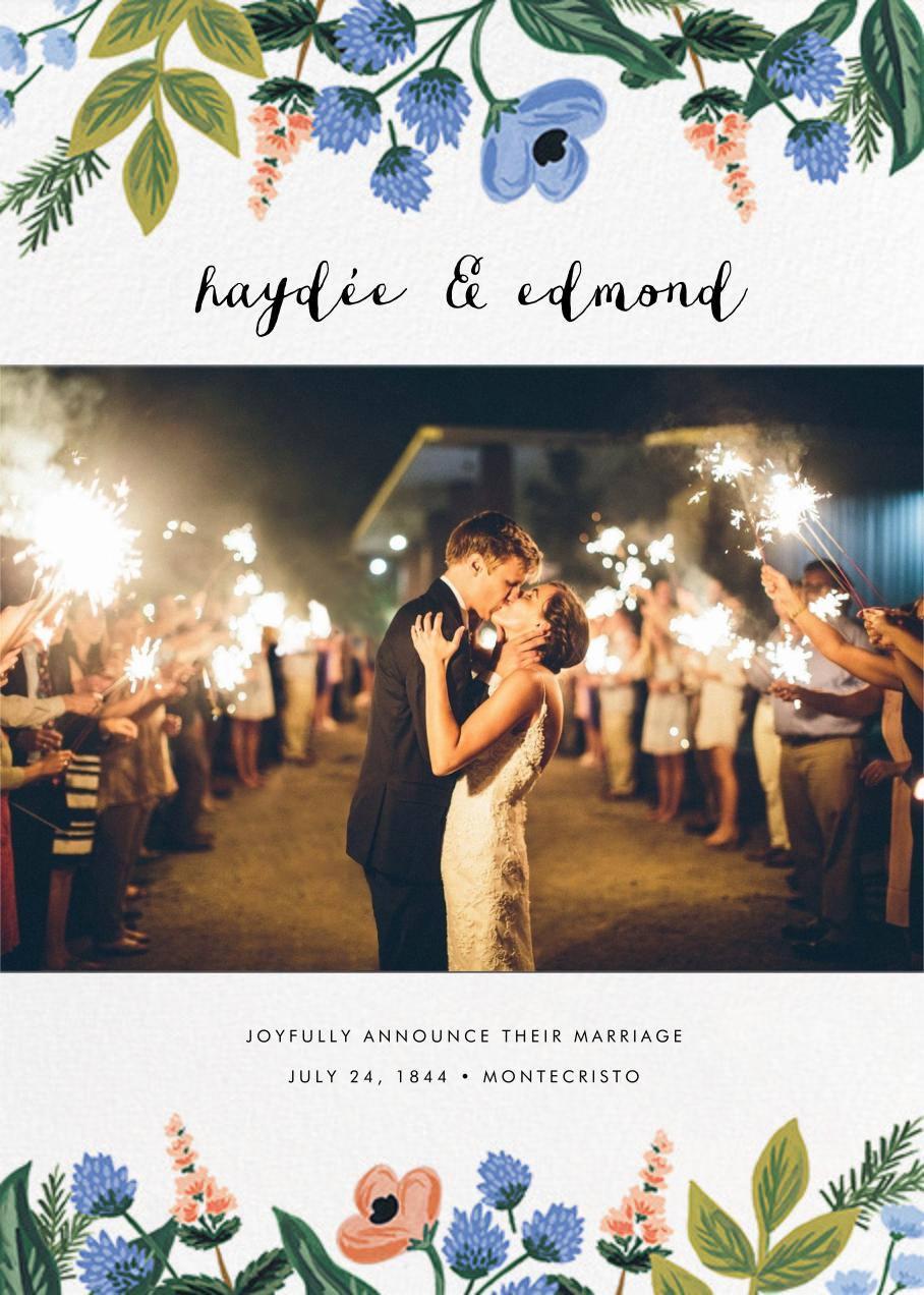 August Herbarium (Photo Announcement) - Rifle Paper Co. - Wedding