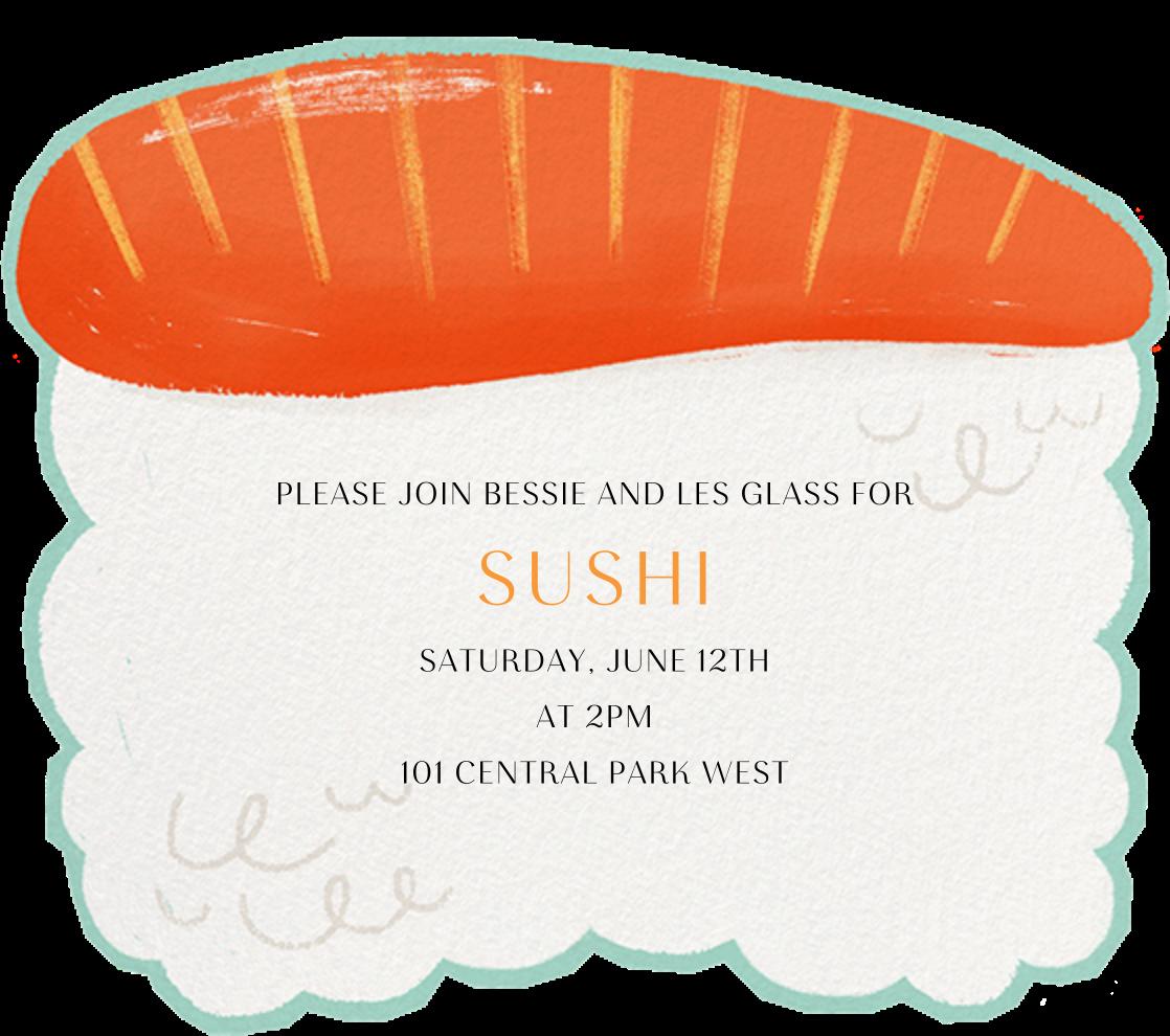 Sake - Paperless Post - Dinner party