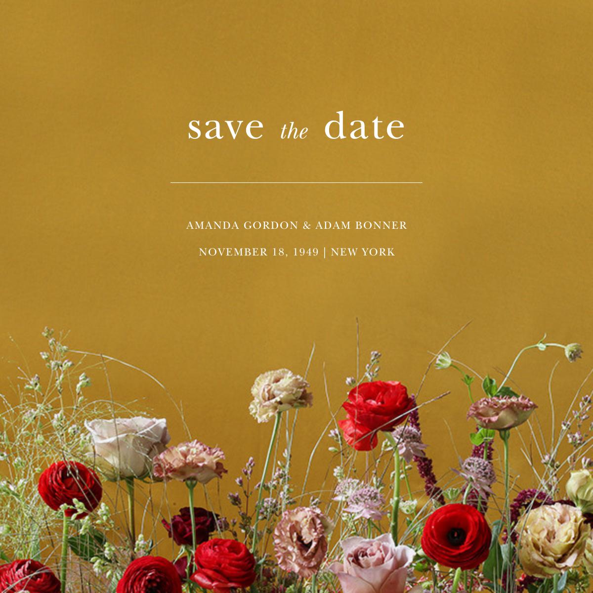 Germinal (Save the Date) - Putnam & Putnam - Save the date