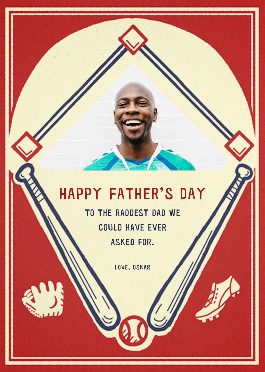 Batter Up (Photo) - Paperless Post - Father's Day