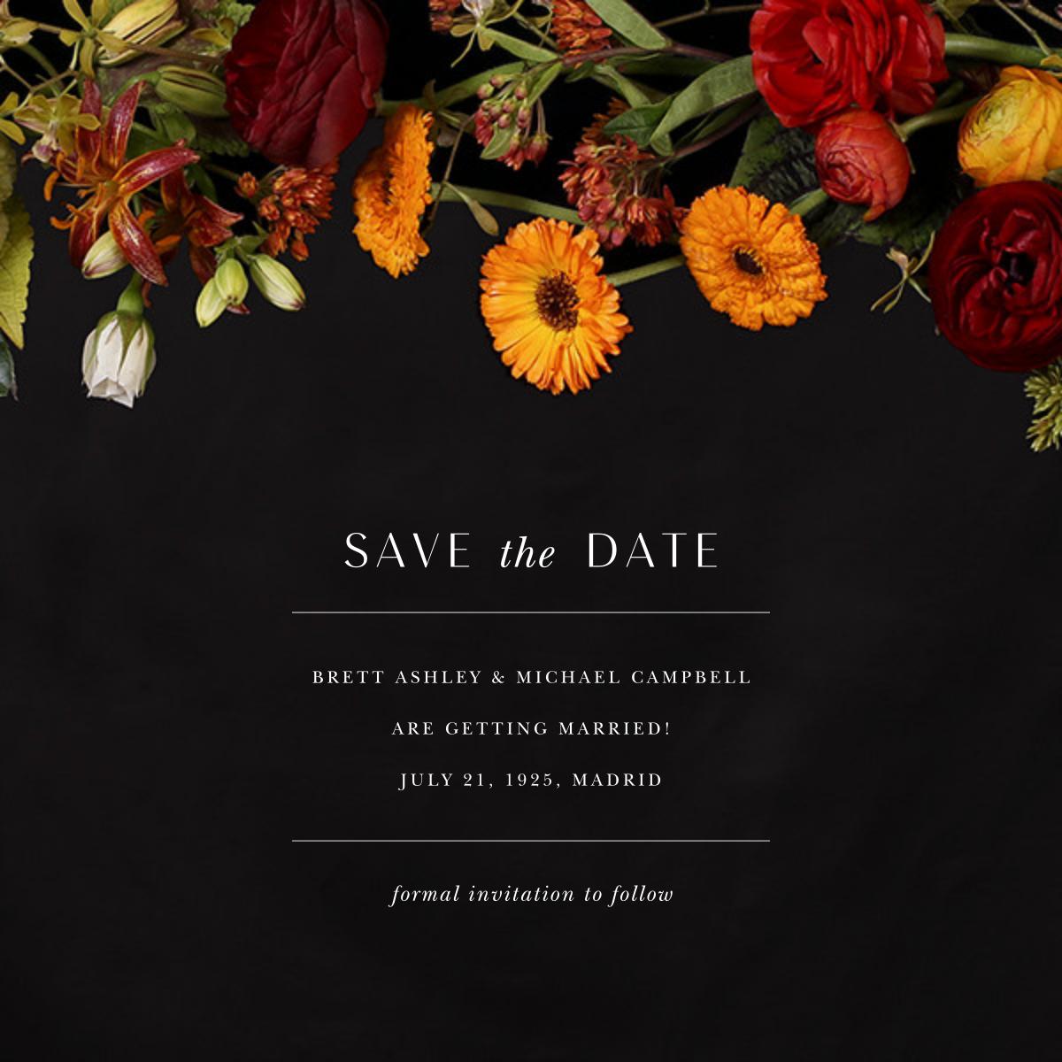 Vendémiaire (Save the Date) - Putnam & Putnam - Save the date