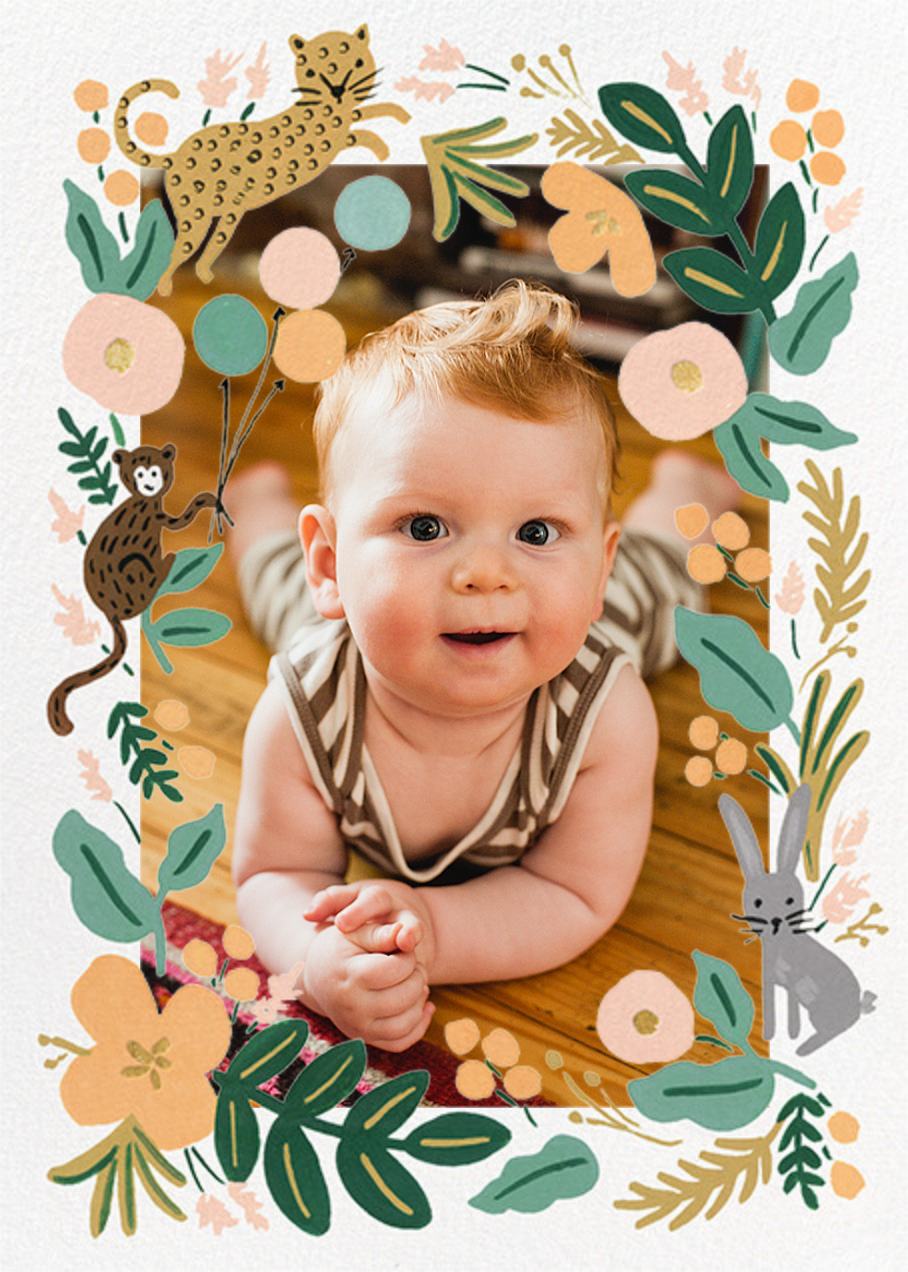 Festive Fauna Photo - Rifle Paper Co. - First birthday and baby