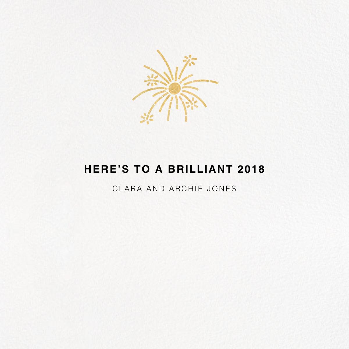 Jubilant Jumble - New Years - Paperless Post - New Year - card back