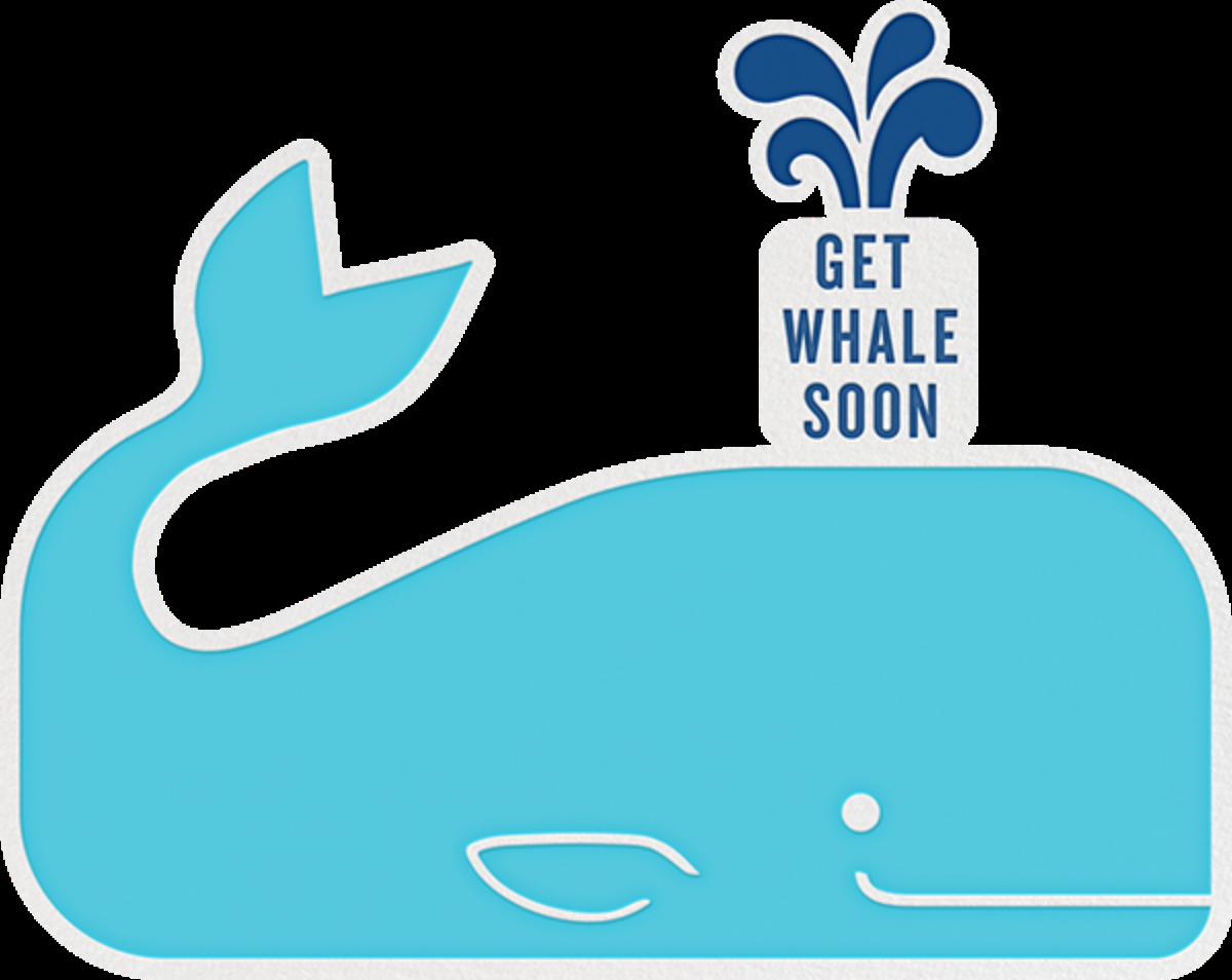 Get Whale Soon - Jonathan Adler - Get well