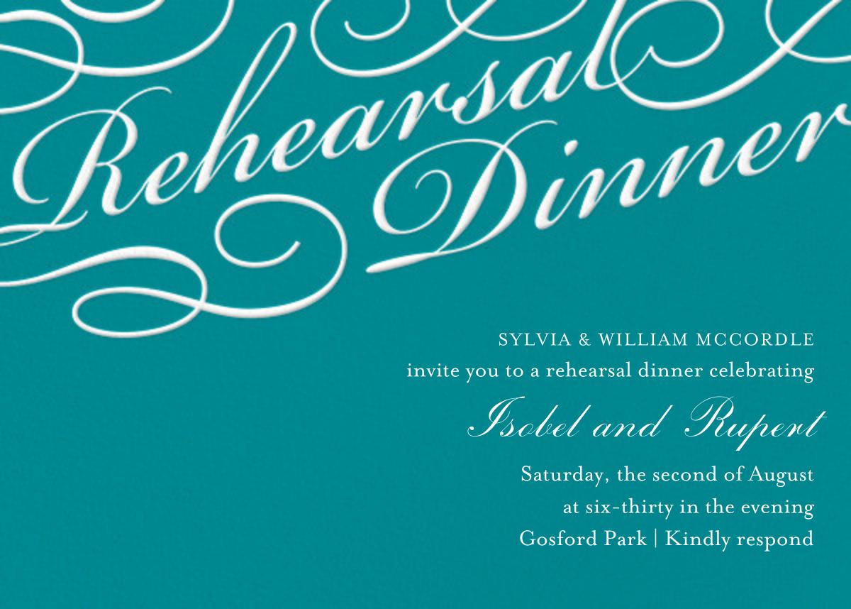 Script Rehearsal Dinner - Paper Source - Printable invitations