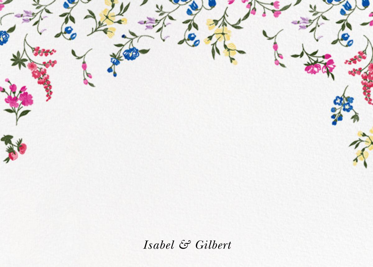 English Garden (Stationery) - Oscar de la Renta - Personalized stationery