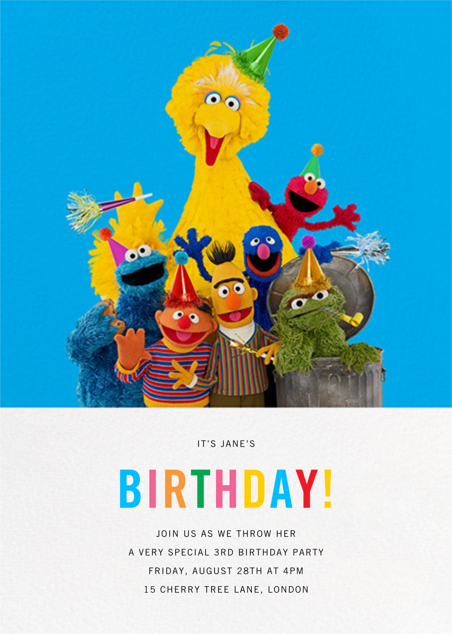 Big Birds of a Feather - Sesame Street