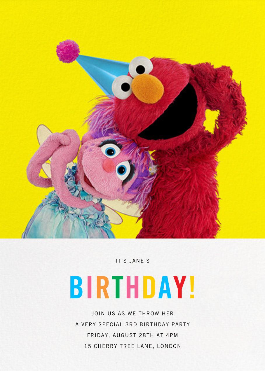 Birthday Fun! - Sesame Street - Kids' birthday