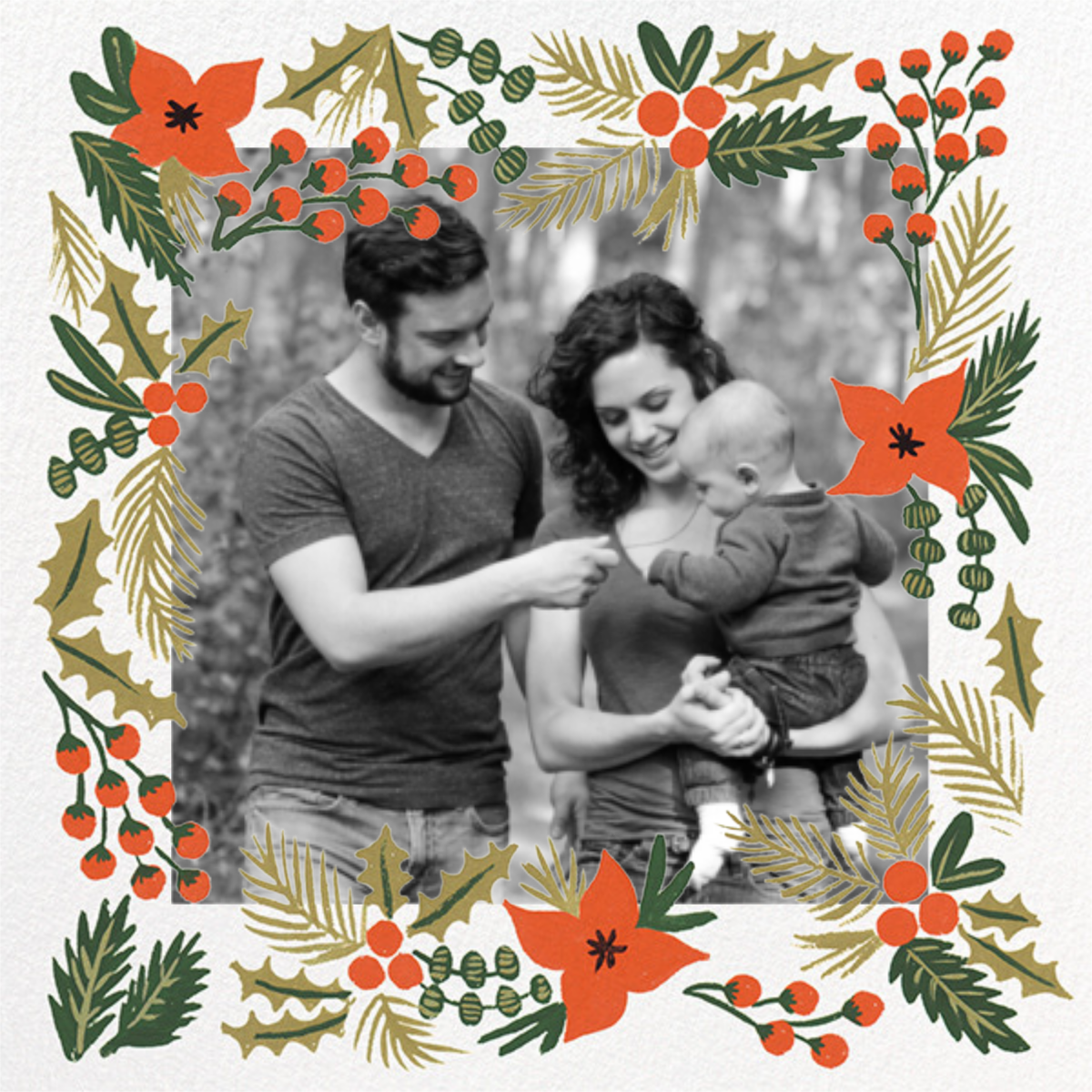 Holiday Potpourri (Square Photo) - Rifle Paper Co. - Holiday cards