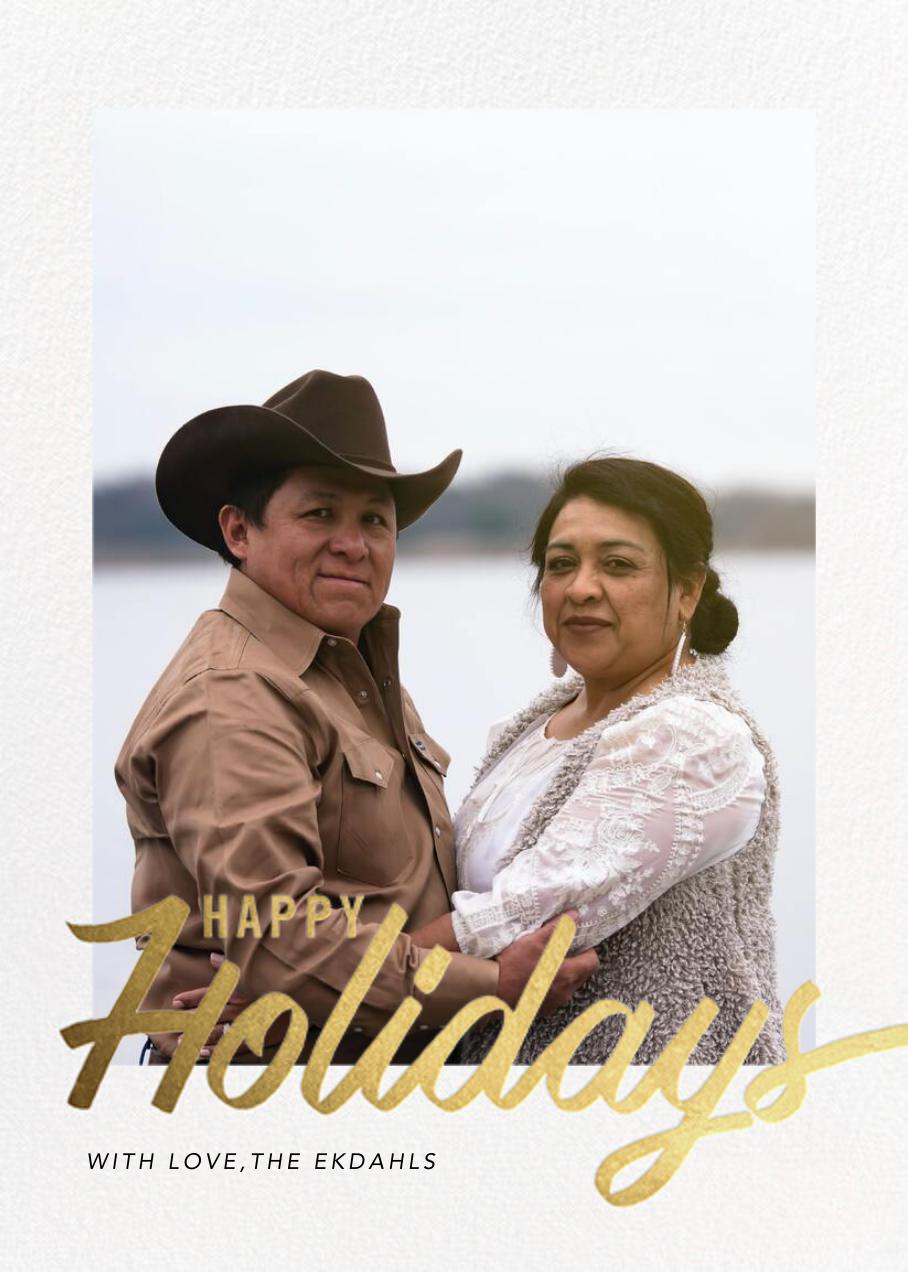 Evelina - Happy Holidays - Paperless Post