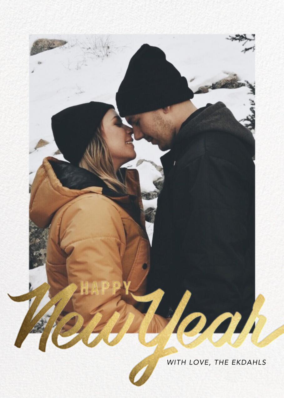 Evelina - Happy New Years - Paperless Post - New Year