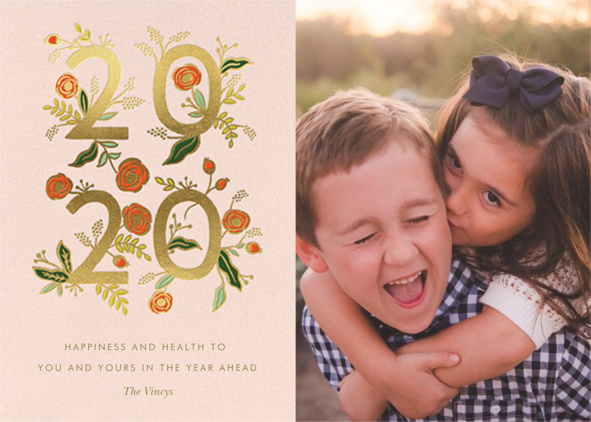 Poppy New Year 2020 Photo - Rifle Paper Co. - New Year