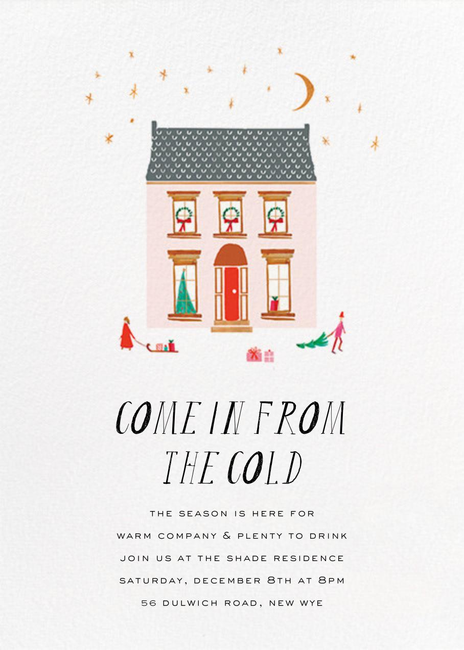 The House is Open - Mr. Boddington's Studio - Christmas party