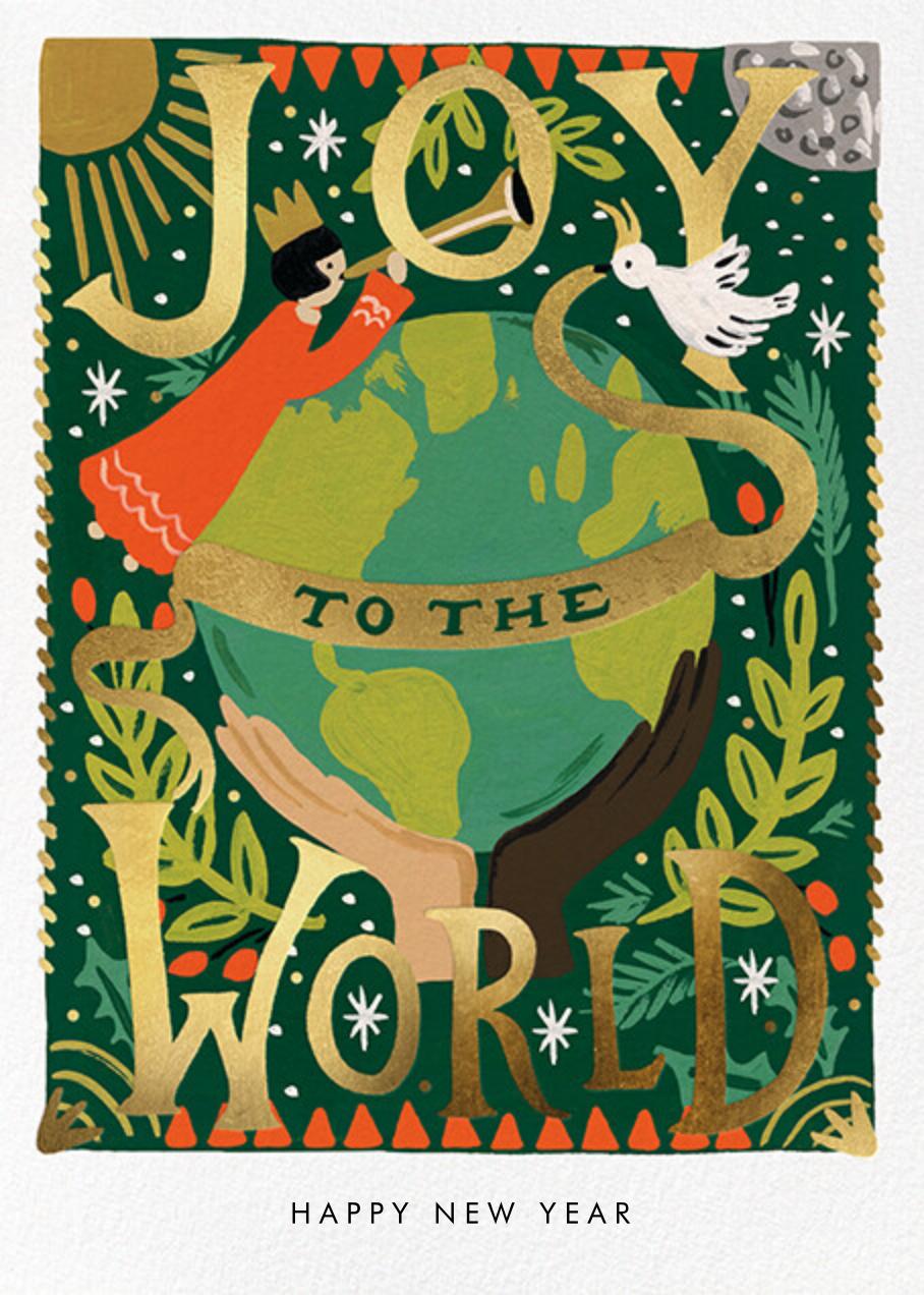 Joyful World - Rifle Paper Co. - Holiday cards