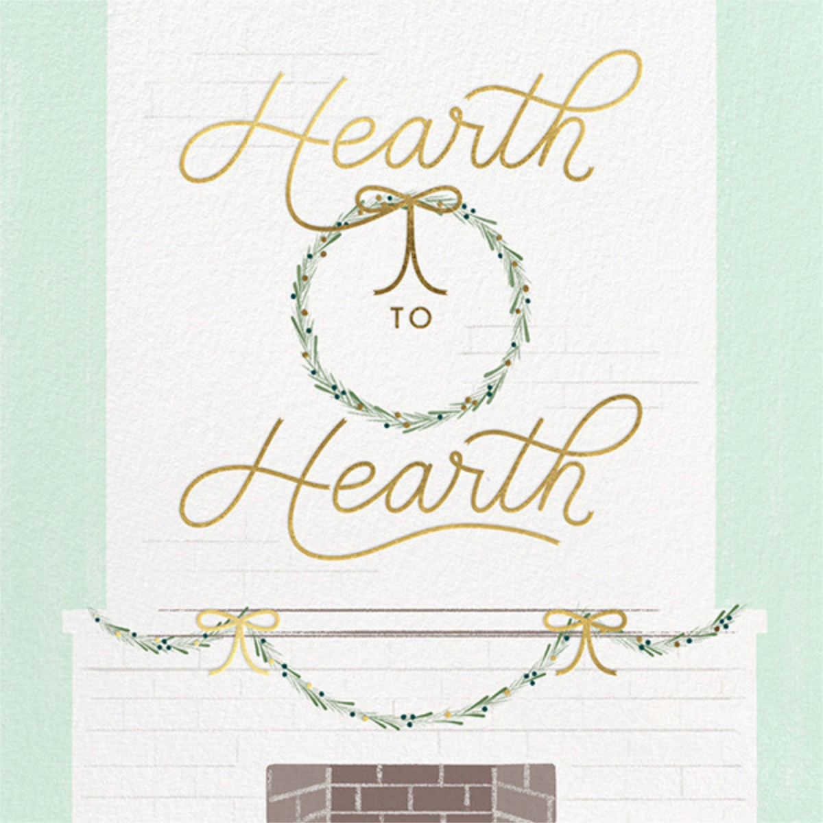 Hearth to Hearth - Paperless Post - Holiday cards