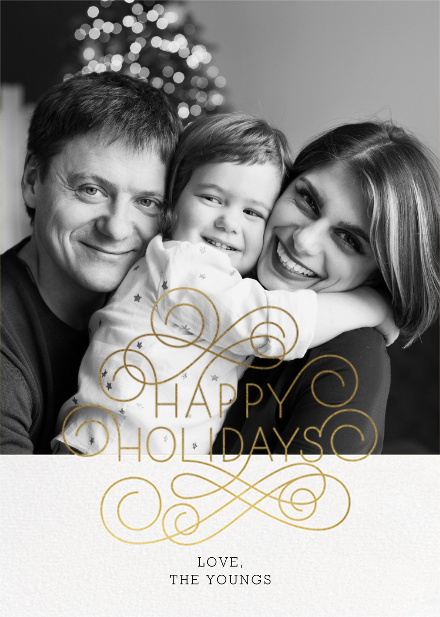 Holiday Frontispiece - Paperless Post