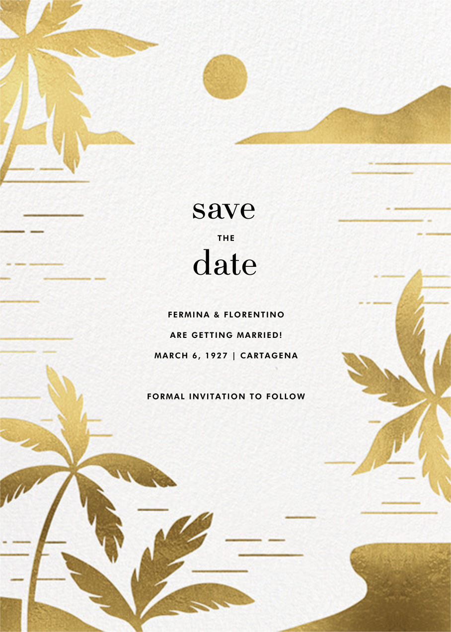 Moon Lagoon - Paperless Post - Save the date