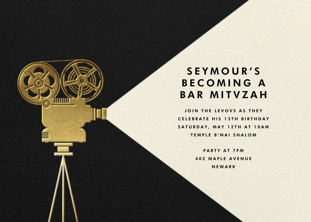 Reel to Reel - Paperless Post - Bar and bat mitzvah