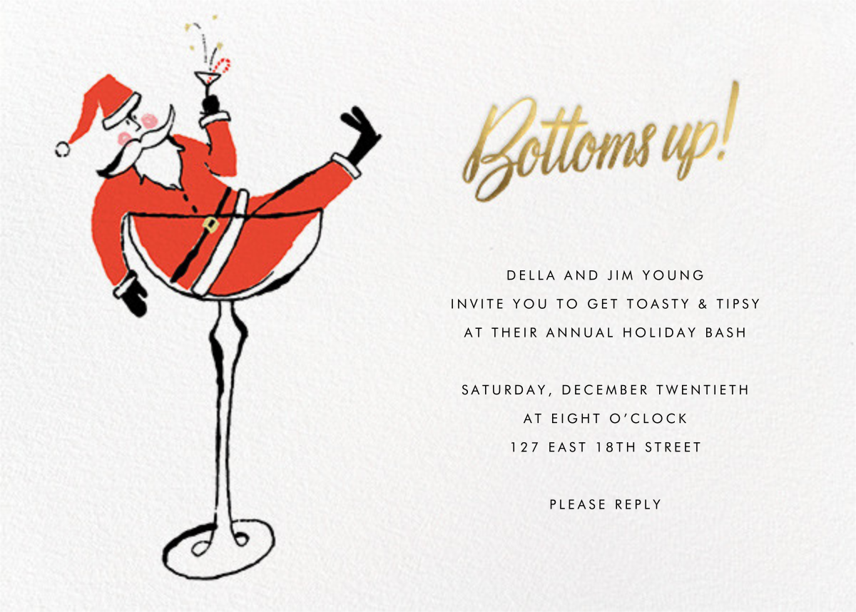 Tipsy Nicholas - kate spade new york - Christmas party