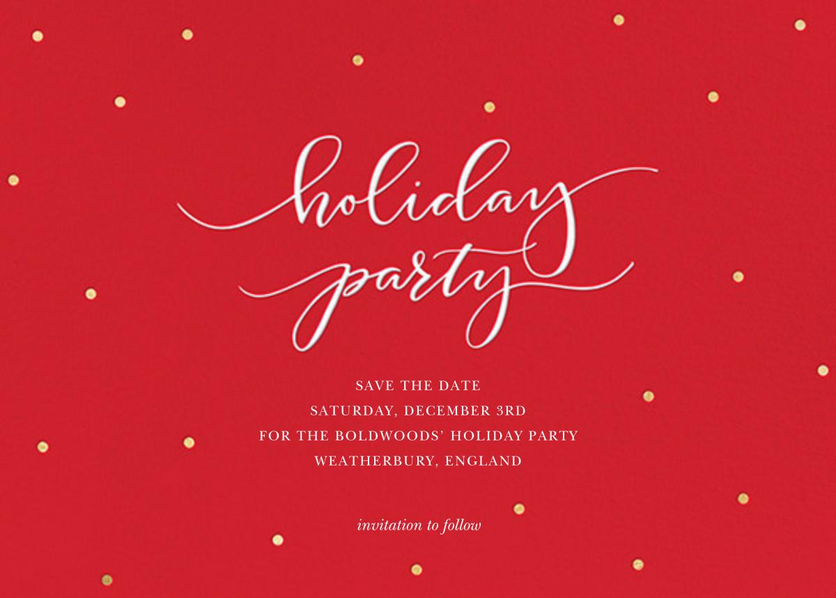 Holiday Dots - Red - Sugar Paper - Sugar Paper