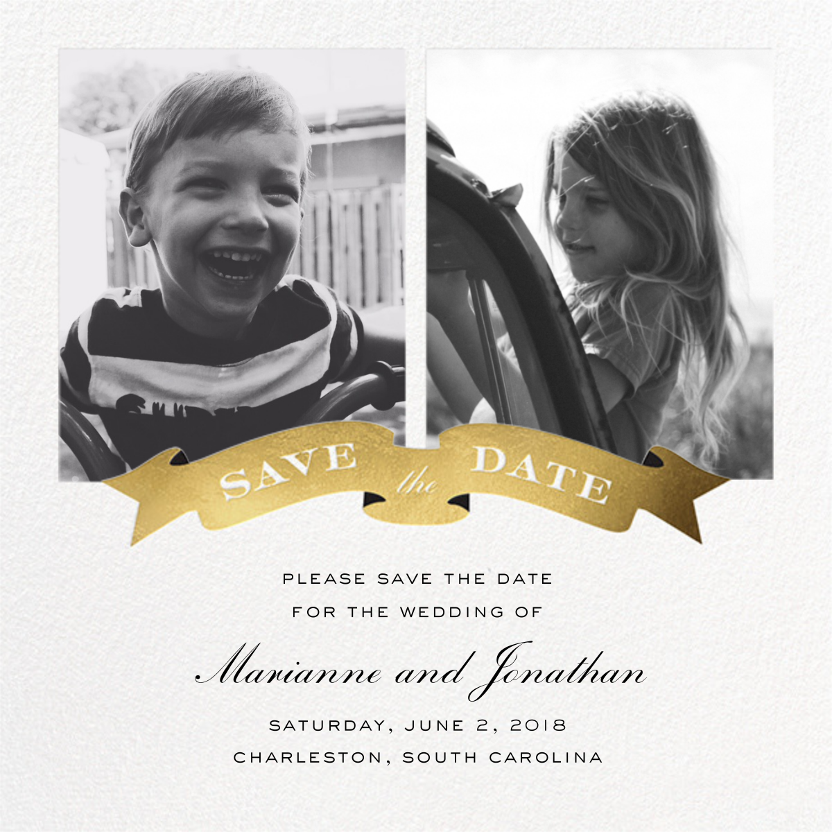 TBT Save the Date - Cheree Berry Paper & Design