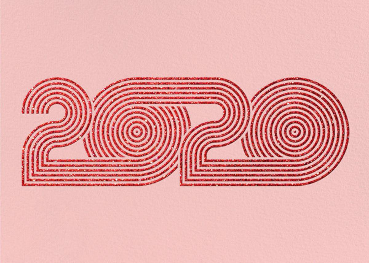 Psychedelic Twenty - Pavlova - Paperless Post - New Year
