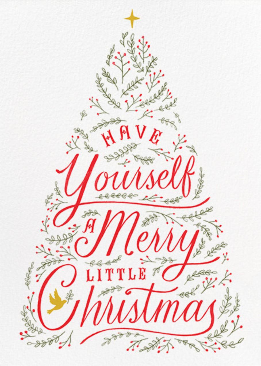 Written in Tinsel - White - Paperless Post - Christmas