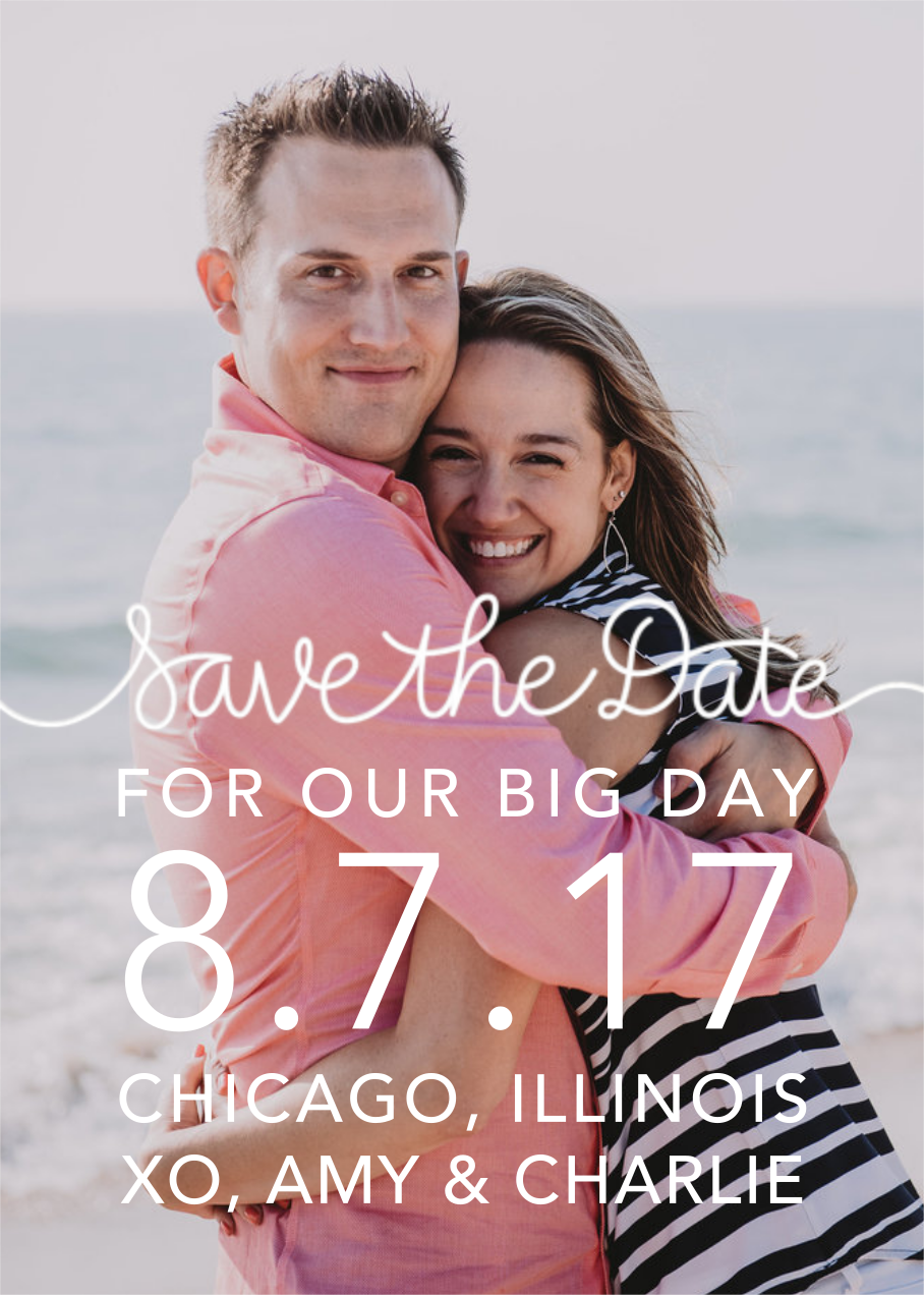 Our Big Day - White - Crate & Barrel