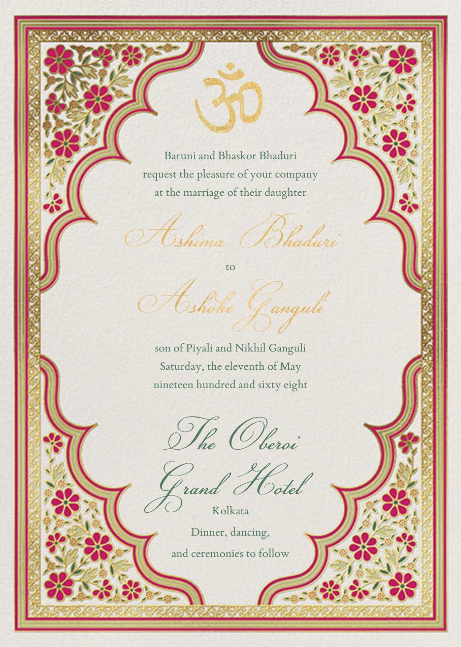 Niwas (Invitation) - Paperless Post - All