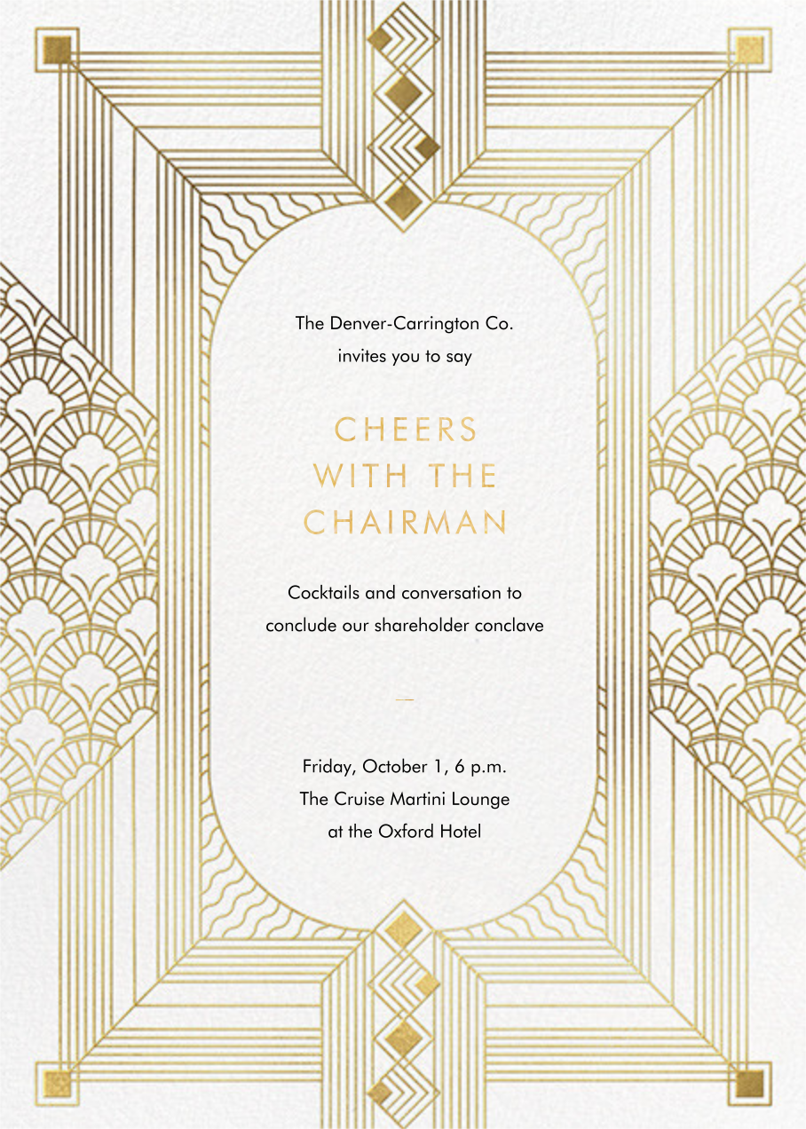 Ruhlmann - Paperless Post - Reception