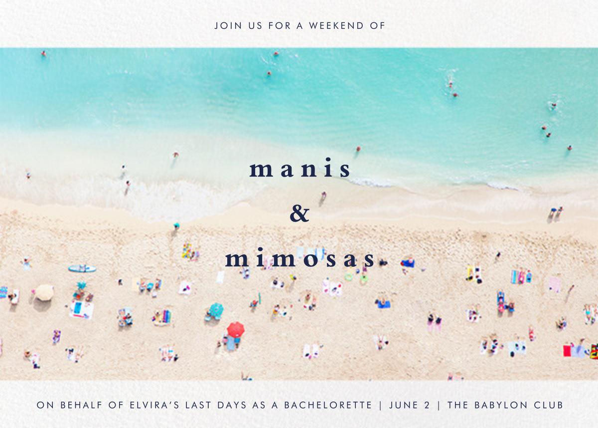 Beach - Gray Malin - Bachelorette party