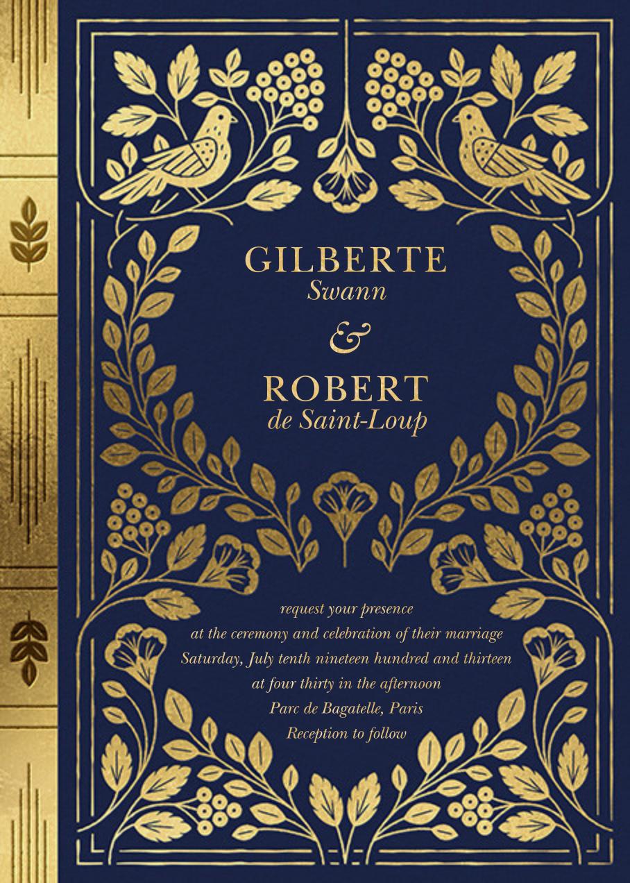 Roman à Clef (Invitation) - Paperless Post - All