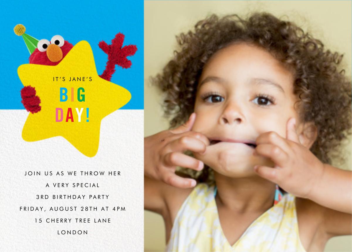 Hey, Elmo Photo - Sesame Street - Kids' birthday