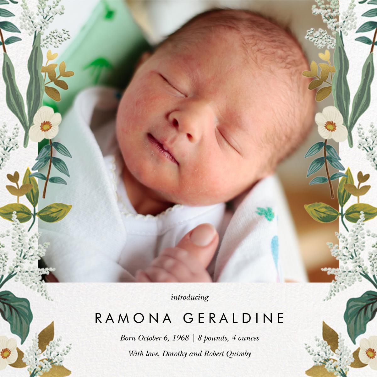 Meadow Garland Photo - Rifle Paper Co. - Birth
