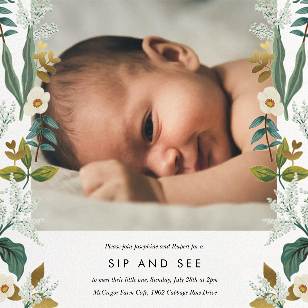 Meadow Garland Photo - Rifle Paper Co. - Sip and see