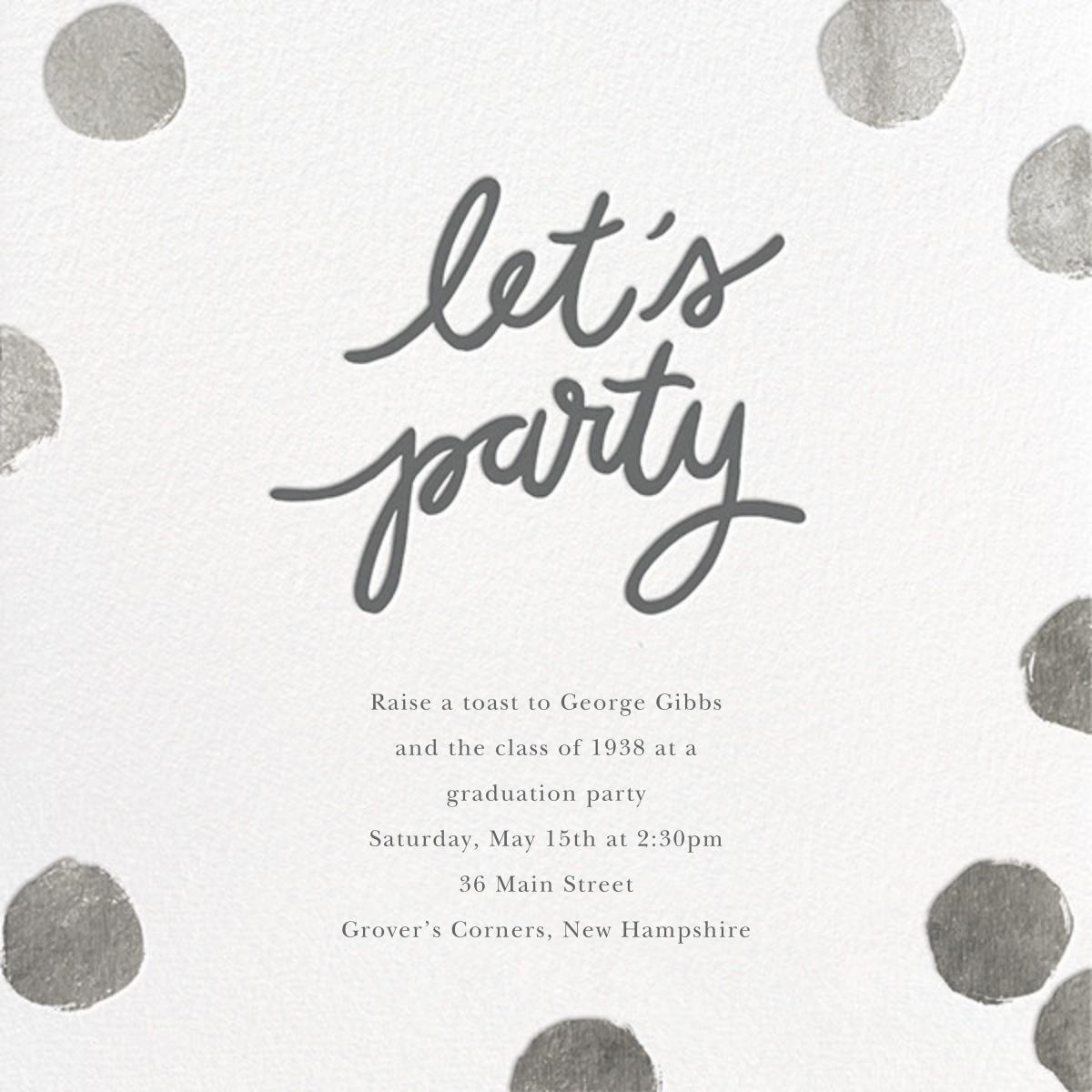 Big Dot Party - Silver - Sugar Paper