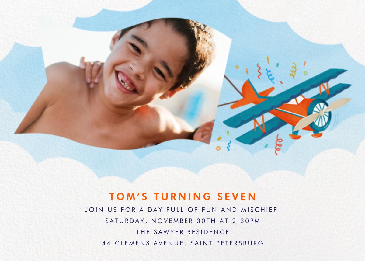 One Banner Birthday - Paperless Post - Kids' birthday