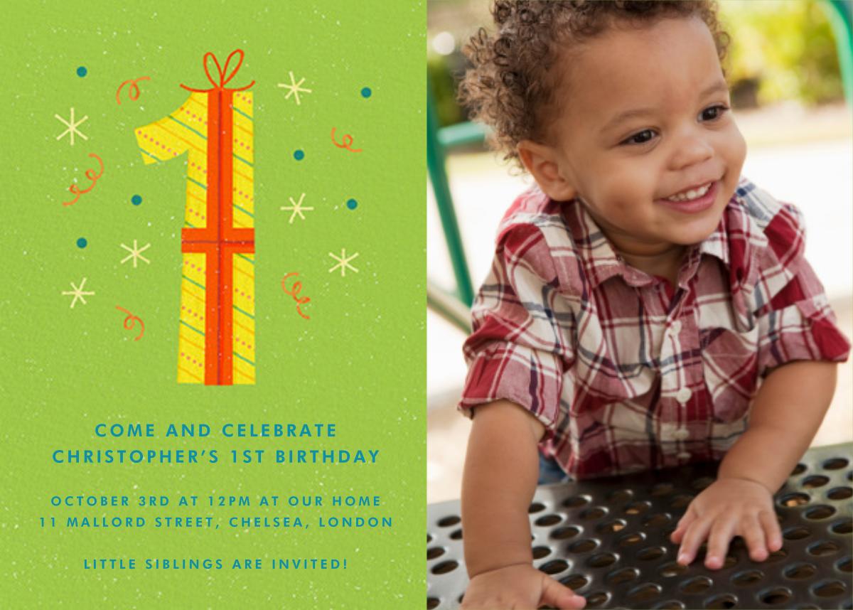 One Perfect Present - Paperless Post - 1st birthday