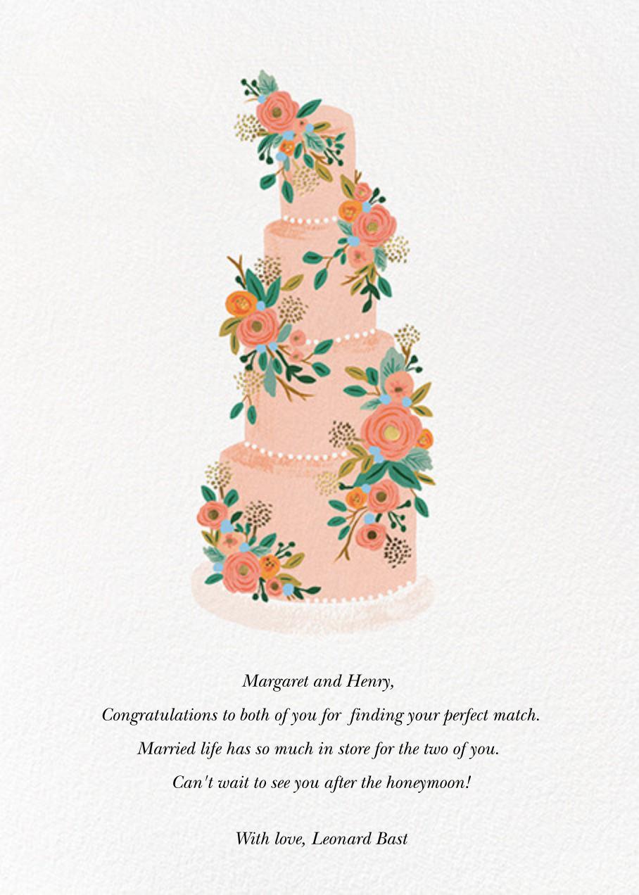 Princess Cake - Rifle Paper Co. - Congratulations