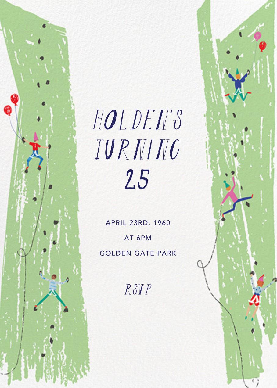 Ladies and Gentlemen Climbers - Mr. Boddington's Studio - Adult birthday