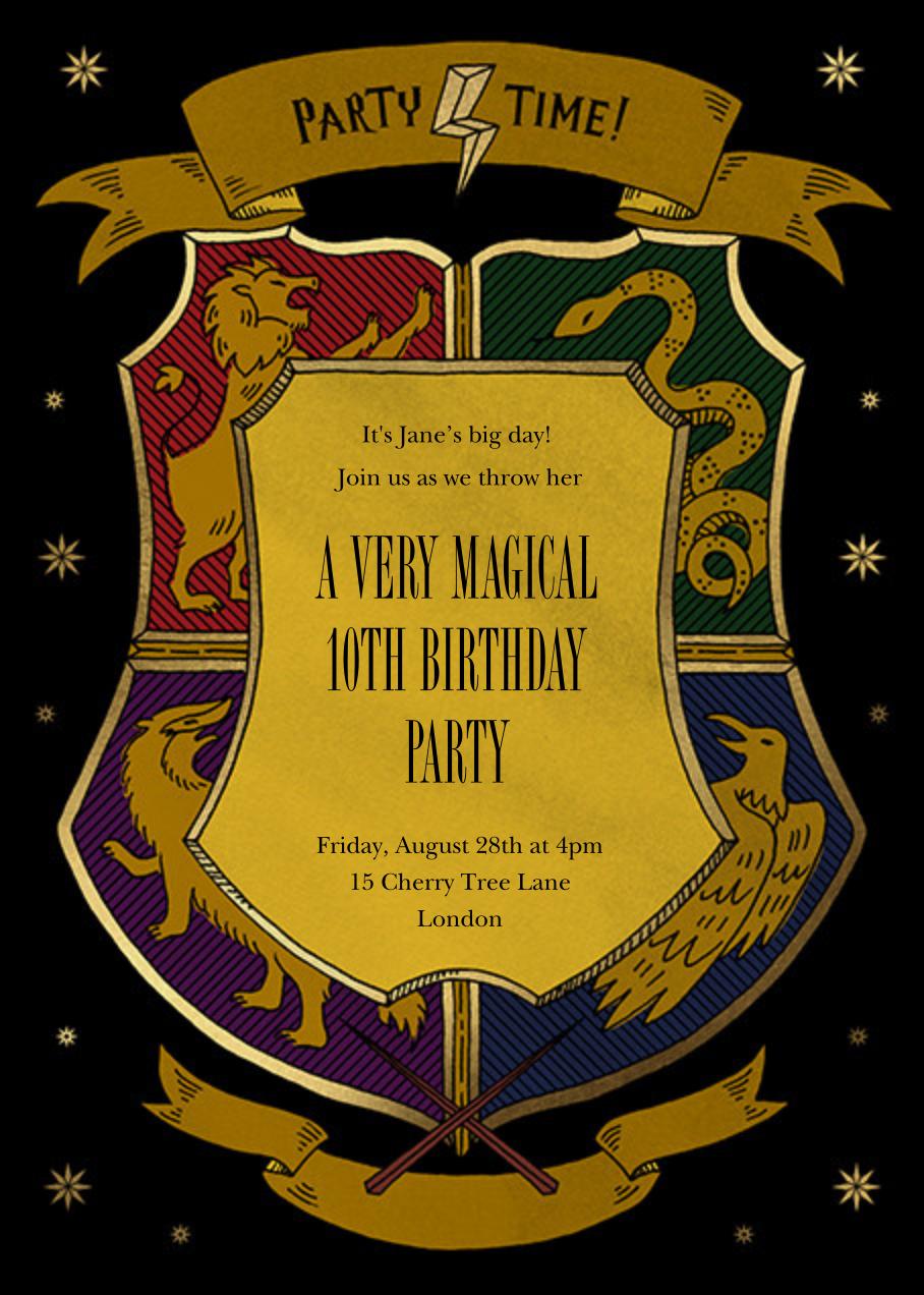 We're Wizarding - Paperless Post - Kids' birthday
