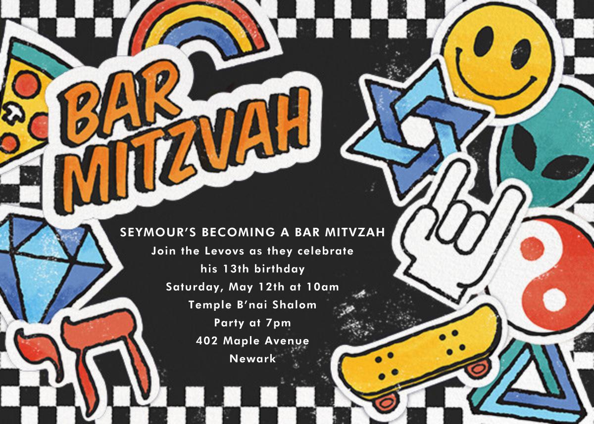 Challah Back - Bar - Paperless Post - Bat and bar mitzvah