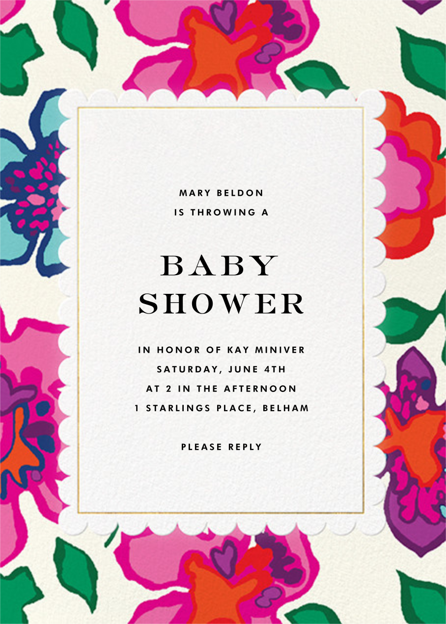 Floral Punch - kate spade new york - Baby shower
