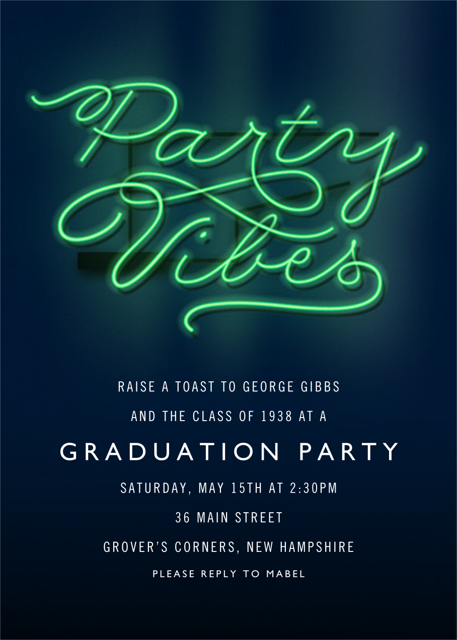 Party Vibes - Cheree Berry - Graduation party