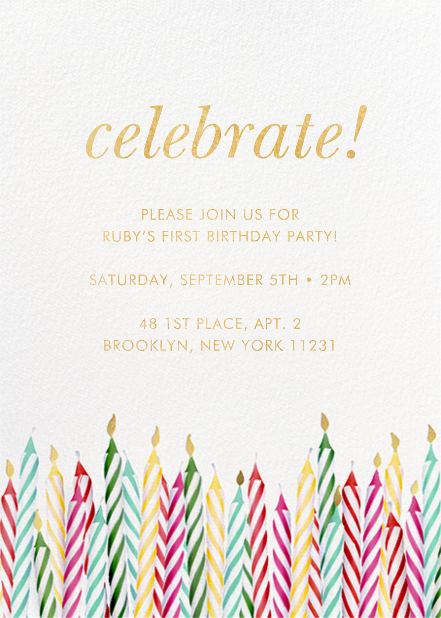 Candle Corner - kate spade new york - Kids' birthday