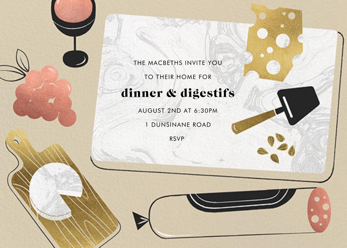 Charcuties - Paperless Post - Wine tasting invitations